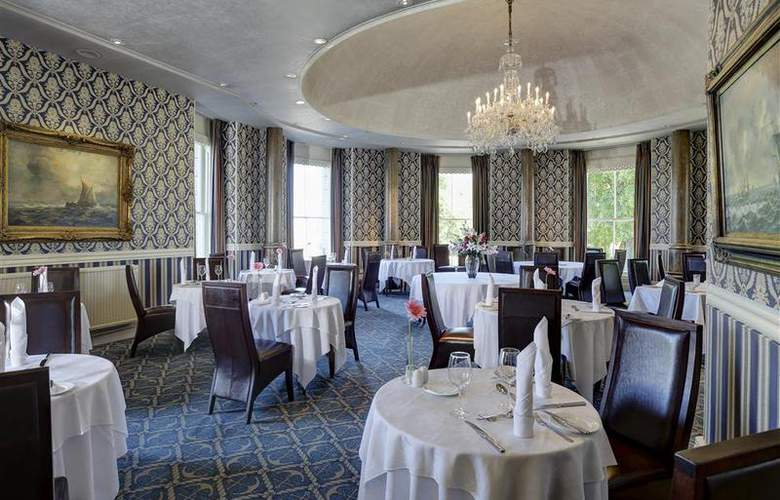 Best Western Duke Of Cornwall Hotel - Restaurant - 97