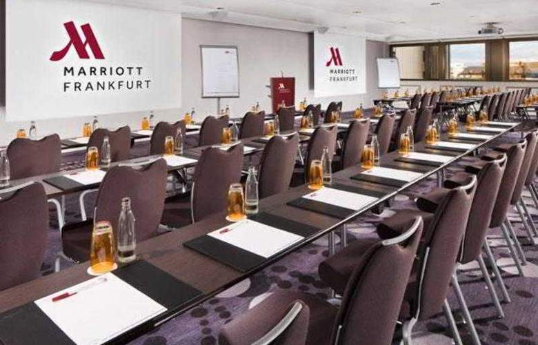 Marriott Frankfurt - Hotel - 19