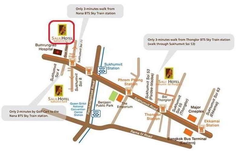 Salil Hotel Sukhumvit Soi Thonglor1 - Hotel - 14