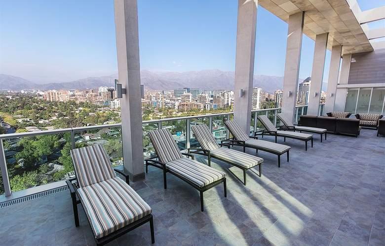Hyatt Place Santiago/Vitacura - Terrace - 7