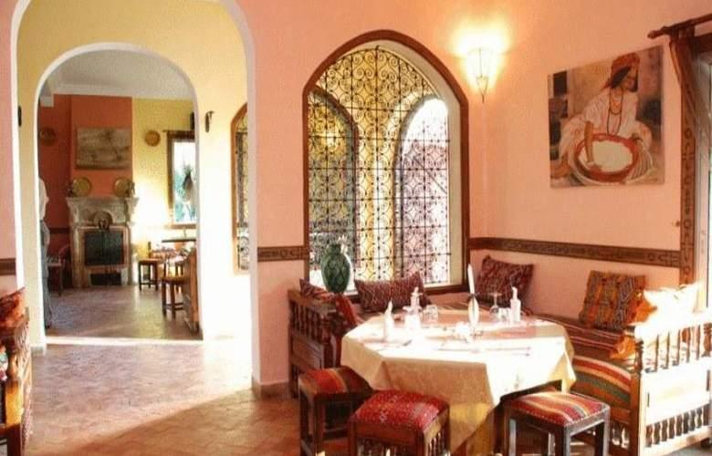 Riad Zahra - Restaurant - 54