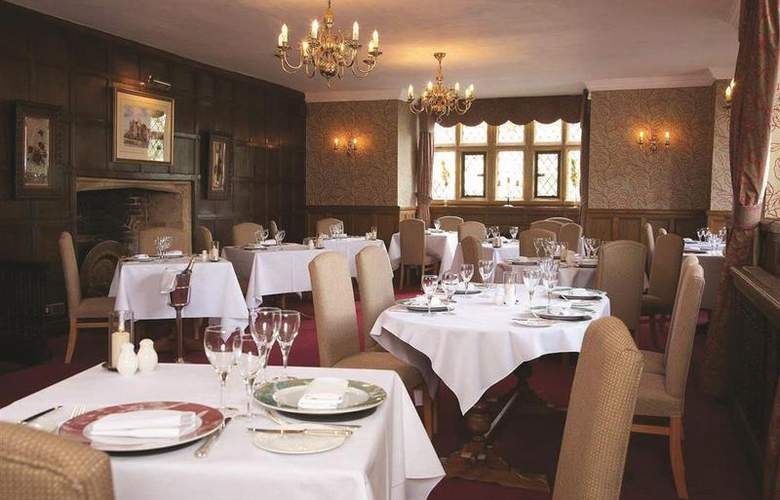 Best Western Salford Hall - Restaurant - 8