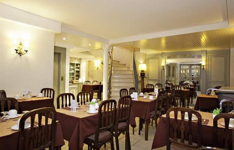Best Western AuxDucs Bourgogne - Restaurant - 28