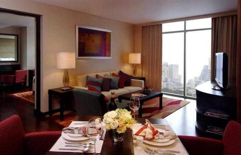 Marriott Executive Apartment Sathorn Vista Bangkok - Room - 4