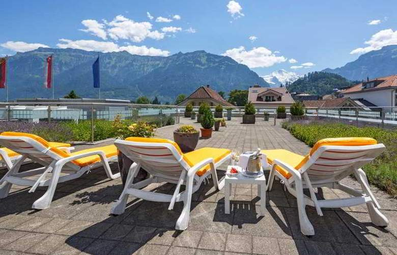 Metropole Interlaken - Terrace - 18