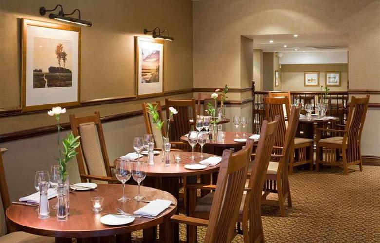 Dunkenhalgh Hotel & Spa Blackburn - Restaurant - 77