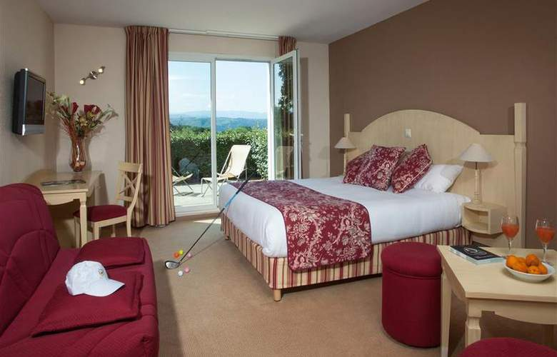 Best Western Hotel Golf D'Albon - Room - 17