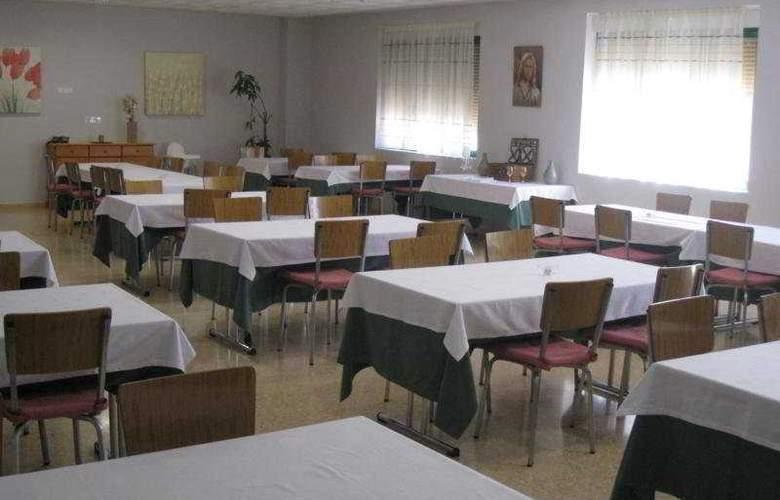 Hospederia Nuestra Señora del Villar - Restaurant - 6