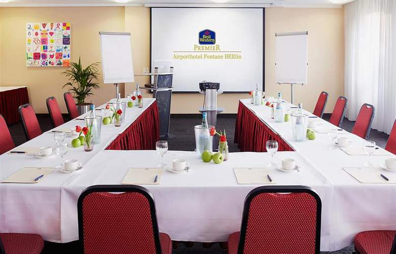 Best Western Premier Airporthotel Fontane Berlin - Conference - 51