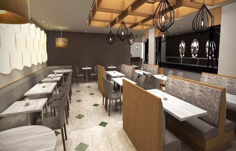 Antarisuite Galerías - Restaurant - 15