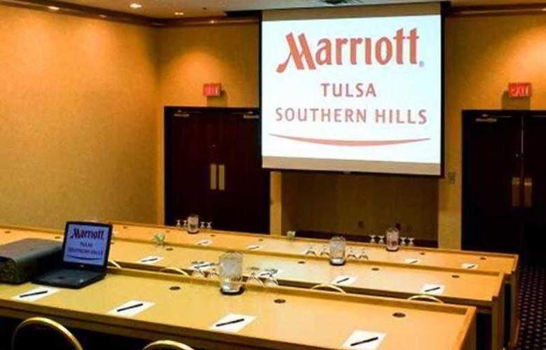 Marriott Tulsa Hotel Southern Hills - Hotel - 8