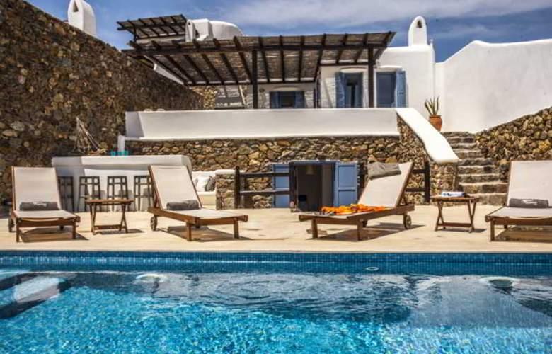 Mykonos Panormos Villas - Pool - 13
