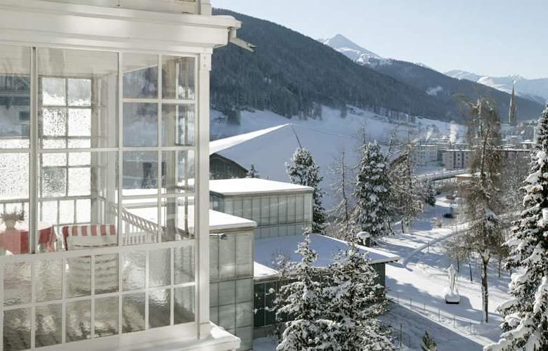 Steigenberger Grandhotel Belvédère Davos - Terrace - 7