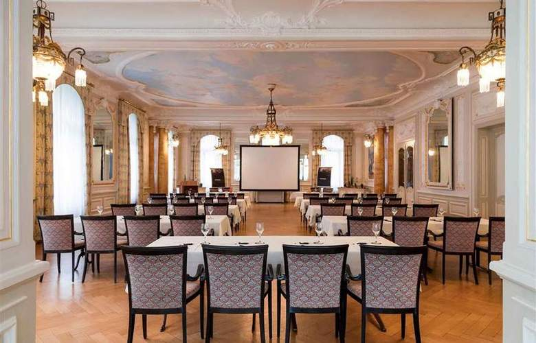 Royal St Georges Interlaken - MGallery by Sofitel - Conference - 109