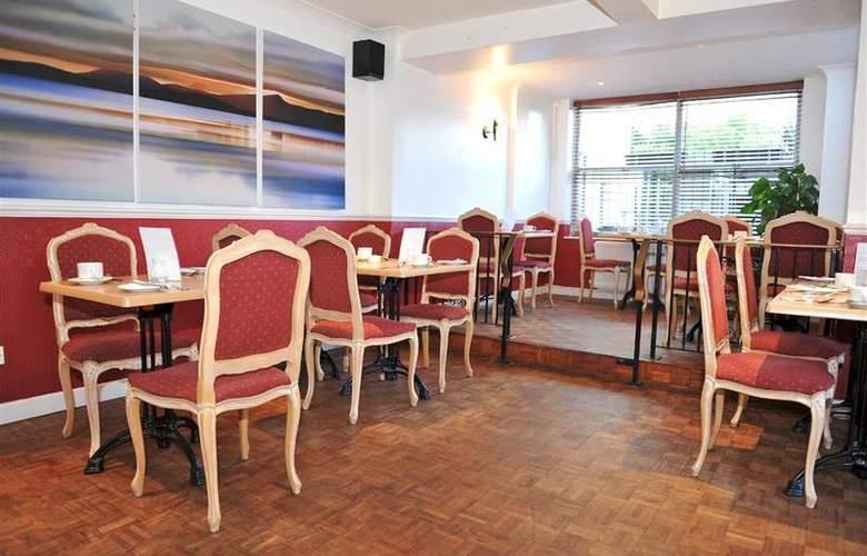 Best Western Montague Hotel - Restaurant - 135