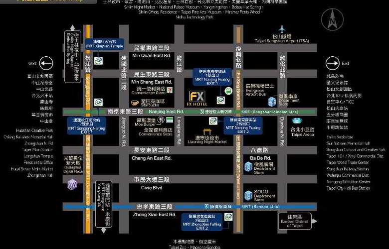 FX Hotel Taipei Nanjing East Rd - Hotel - 8