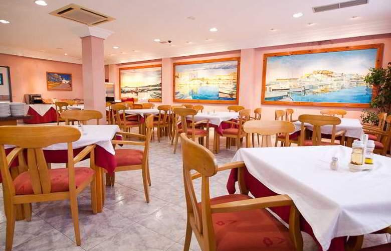 Hotel Apartamentos El Puerto - Restaurant - 3