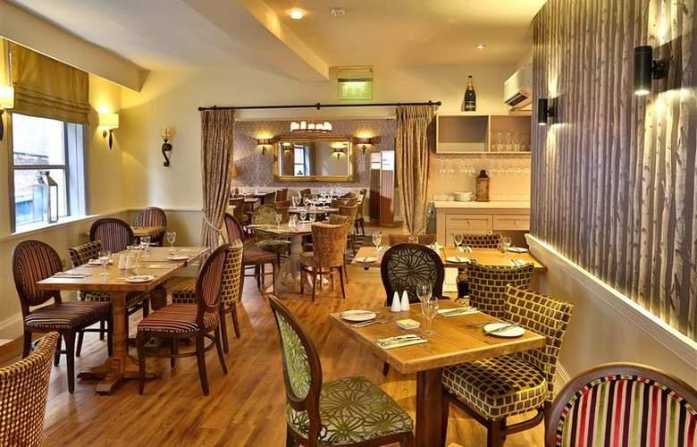 Best Western George Hotel Lichfield - Restaurant - 131