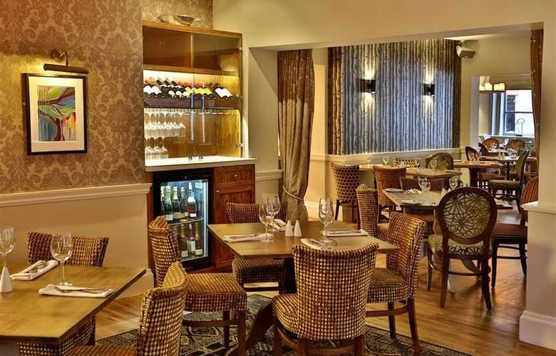 Best Western George Hotel Lichfield - Restaurant - 128