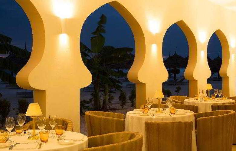 Gold Zanzibar Beach House spa - Restaurant - 25