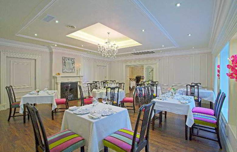 Fitzgeralds Woodlands House Hotel & Spa - Restaurant - 54