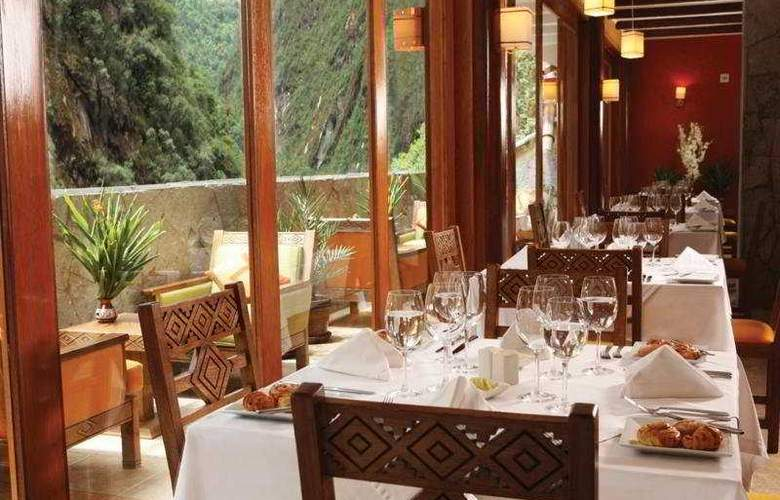 Sumaq Machu Picchu - Restaurant - 4