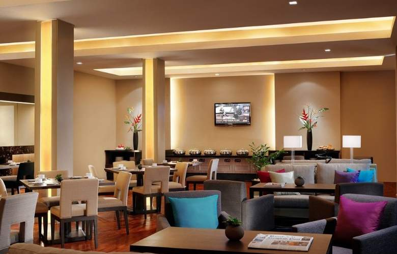 Oakwood Residence Garden Towers Bangkok - Restaurant - 10