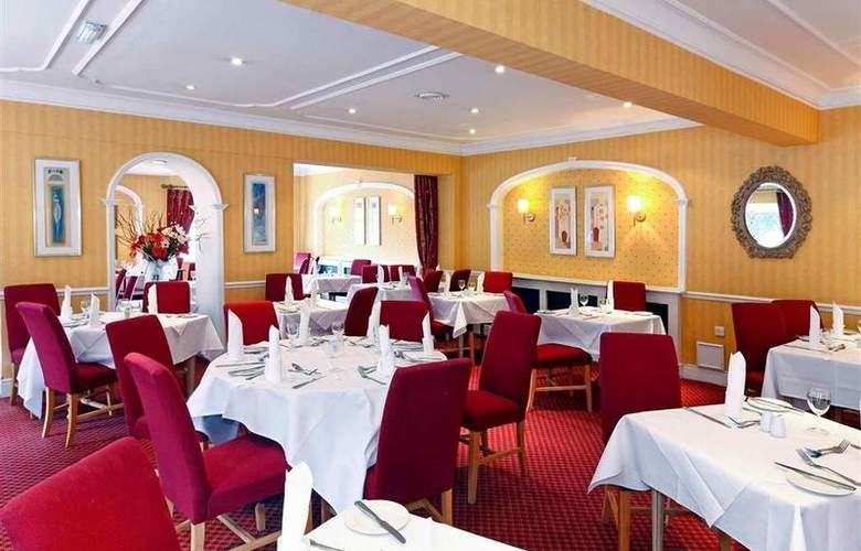 Mercure Wolverhampton Goldthorn Hotel - Restaurant - 44