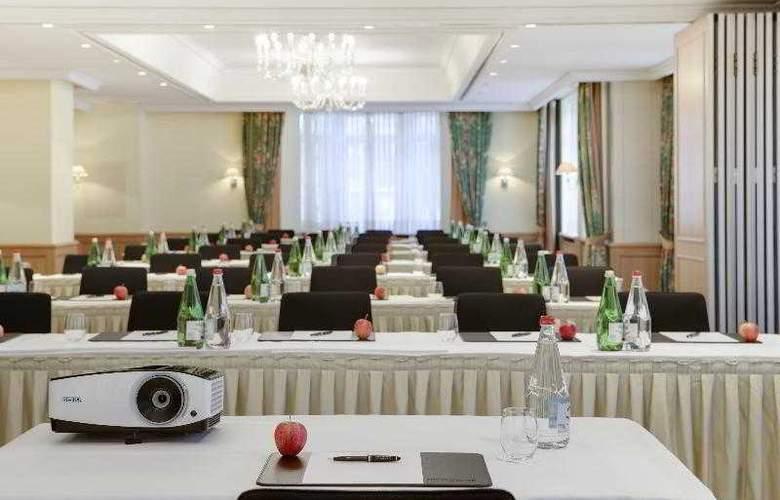 Steigenberger Grandhotel Belvédère Davos - Conference - 27