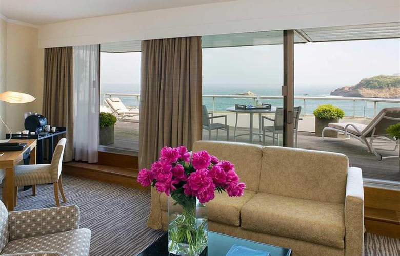 Sofitel Biarritz le Miramar Thalassa Sea & Spa - Room - 48