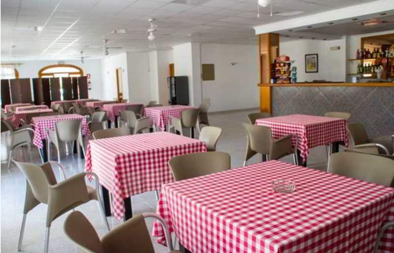 Apartamentos Mar Blanca - Restaurant - 19