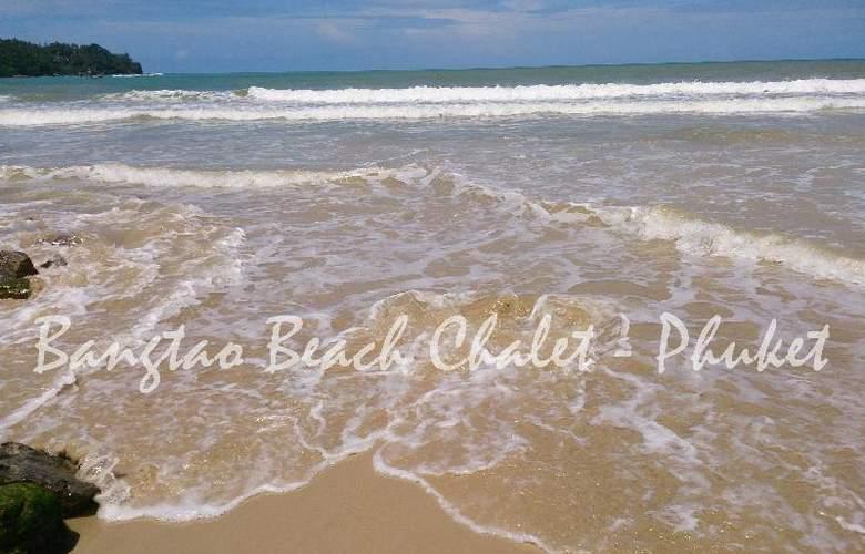 Bangtao Beach Chalet Phuket - Beach - 58