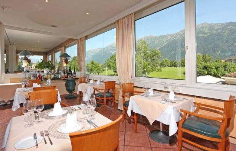 Metropole Interlaken - Restaurant - 11