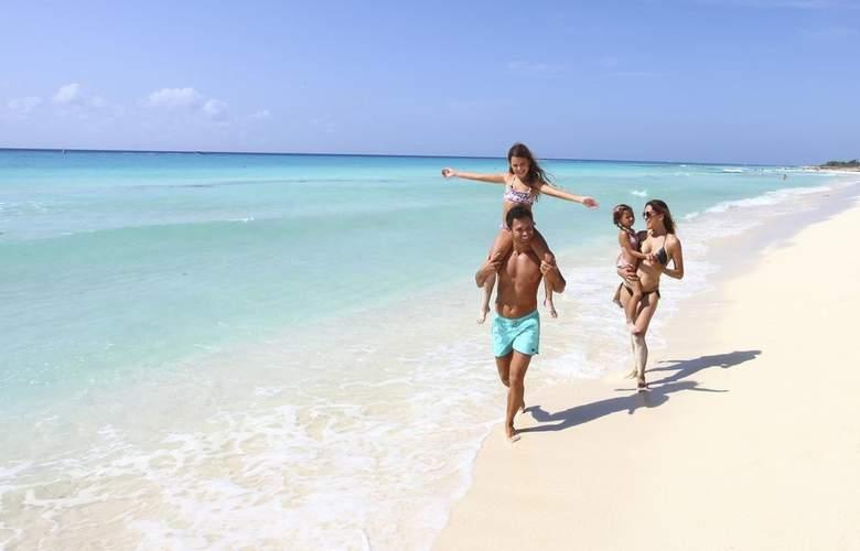 Sandos Playacar Beach Experience Resort - Beach - 9