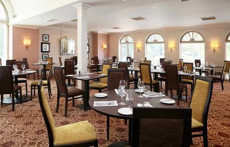 Mercure Brandon Hall Hotel & Spa - Restaurant - 63