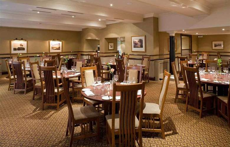 Dunkenhalgh Hotel & Spa Blackburn - Restaurant - 78