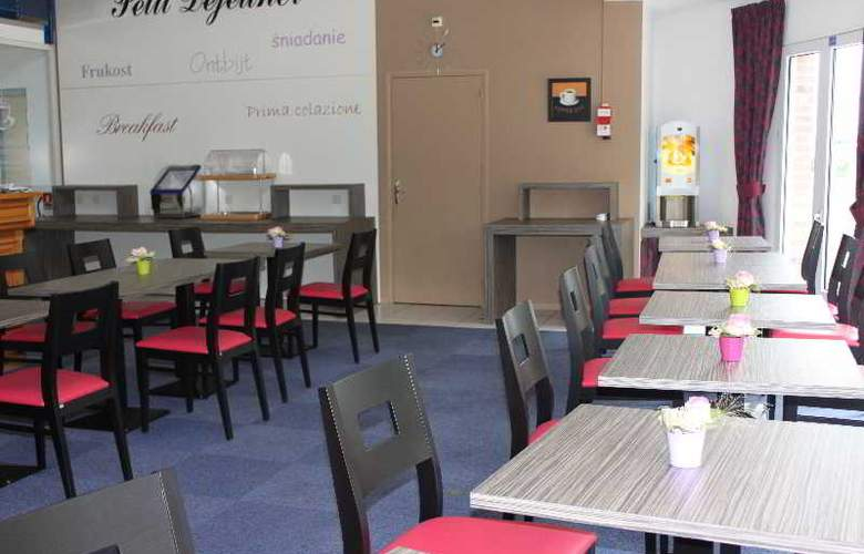 Inter-hotel city Beauvais - Restaurant - 13