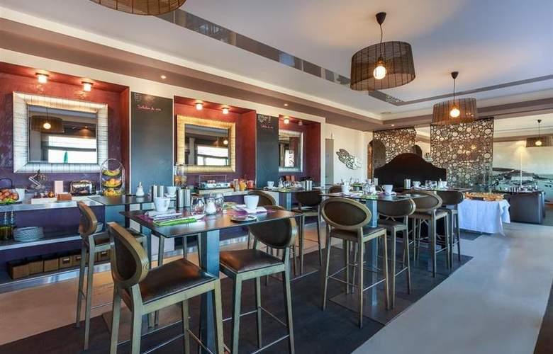 Best Western Hotel de la Plage - Restaurant - 49