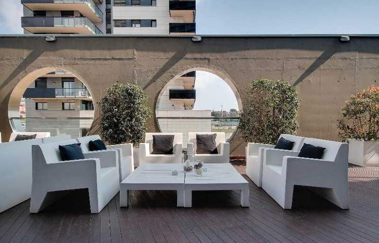 Rafael Hoteles Badalona - Terrace - 46