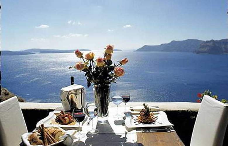 Canaves Oia Suites Apartments - Restaurant - 10