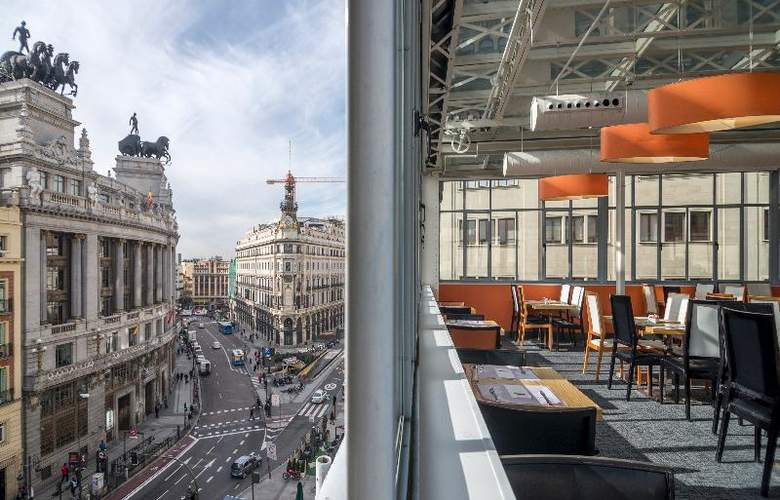 Petit Palace Alcala Torre-Tower Views - Restaurant - 27