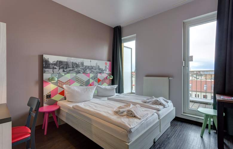 Meininger Berlin Alexanderplatz - Room - 2