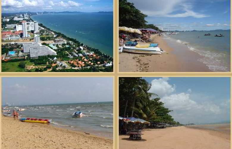 Suksabai Residence Pattaya - Beach - 4