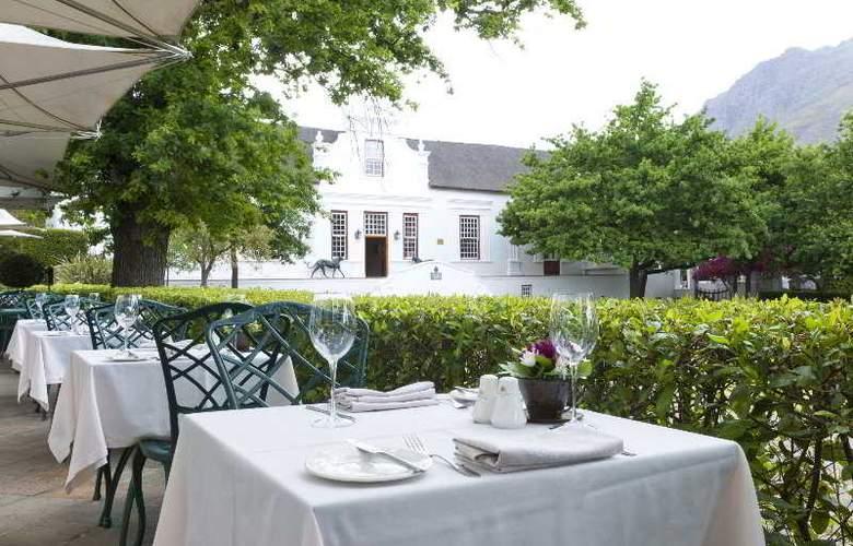 Lanzerac Hotel & Spa - Restaurant - 10