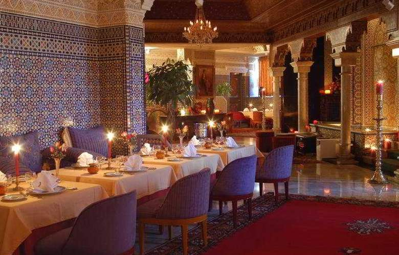 Club Val d Anfa - Restaurant - 9