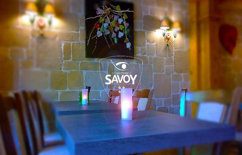 Les Balcons du Savoy - Bar - 21