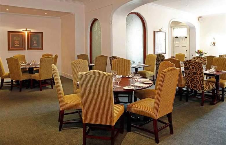 Mercure Stafford South Penkridge House Hotel - Restaurant - 4