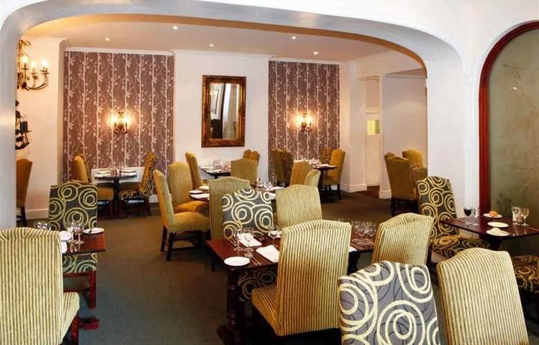 Mercure Stafford South Penkridge House Hotel - Restaurant - 39