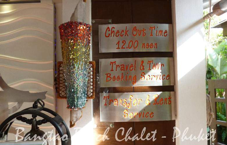 Bangtao Beach Chalet Phuket - General - 29