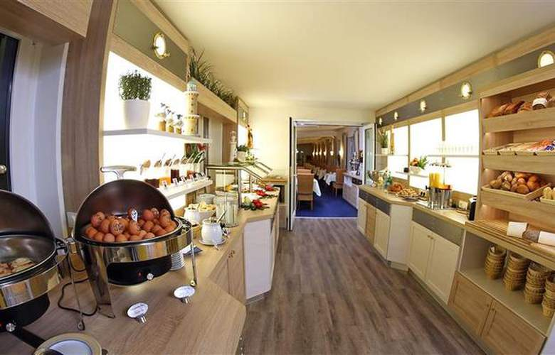 Best Western Hanse Hotel Warnemuende - Restaurant - 68
